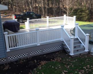 Smith Azek Deck Around Pool Repeat Client Finished