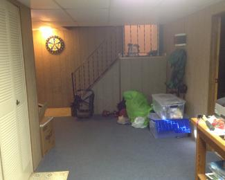 Pitney Basement Remodel Finished Otterbeck Builders